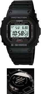 G-SHOCKGショック電波時計タフソーラー電波ソーラーカシオ腕時計電波腕時計【国内正規品】【30%オフで、送料無料&代引手数料込み】G-SHOCKカシオ正規品Gショック☆重厚なメタルケースで、スクリューバックを採用☆GW-5000-1JF☆新品【smtb-MS】