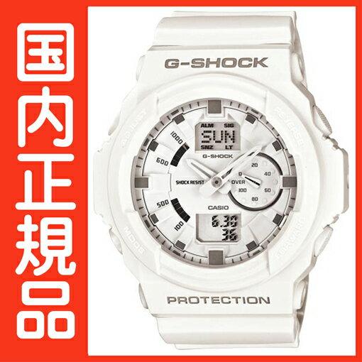 G-SHOCK Gショック GA-150-7AJF ホワイト CASIO 腕時計 【国内正規品】 メンズ 【送料無料】 人気の大型ケースを採用したデジタルとアナログのコンビネーションモデルが新たに登場 G-SHOCK Gショック GA-150-7AJF ホワイト 腕時計【高級 腕時計 メンズ】