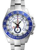 【新品】ロレックス 116680 ヨットマスター2 (ヨットマスターII) SSブレス ホワイトダイアル ブルー針(青針) 自動巻き レガッタクロノグラフ 【kuro_w2】
