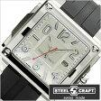 スティールクラフト腕時計 [STEELCRAFT時計](STEELCRAFT 腕時計 スティールクラフト 時計) VELVET GENTS-3HANDS (VELVET GENTS-3HANDS) メンズ時計/ホワイト/CGQ3020P [スクウェア][送料無料][プレゼント/ギフト][夏/バーゲン]