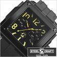 スティールクラフト腕時計 [STEELCRAFT時計](STEELCRAFT 腕時計 スティールクラフト 時計) VELVET GENTS-CHRONO (VELVET GENTS-CHRONO) メンズ時計/ブラック/CGQC041M [スクウェア][送料無料][プレゼント/ギフト][父の日/贈り物]
