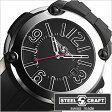 スティールクラフト腕時計 [STEELCRAFT時計](STEELCRAFT 腕時計 スティールクラフト 時計) PULP GENTS-3HANDS (PULP GENTS-3HANDS) メンズ時計/ブラック/RGQ3031P [ラウンド][送料無料][プレゼント/ギフト][父の日/贈り物]