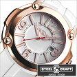 スティールクラフト腕時計 [STEELCRAFT時計](STEELCRAFT 腕時計 スティールクラフト 時計) PULP GENTS-3HANDS (PULP GENTS-3HANDS) メンズ時計/ホワイト/RGQ3052P [ラウンド][送料無料][プレゼント/ギフト][夏/バーゲン]