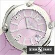 スティールクラフト腕時計 [STEELCRAFT時計](STEELCRAFT 腕時計 スティールクラフト 時計) PULP LADIES-3HANDS (PULP LADIES-3HANDS) レディース時計/ピンク/RLQ3048P [ラウンド][送料無料][プレゼント/ギフト]