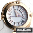 スティールクラフト腕時計 [STEELCRAFT時計](STEELCRAFT 腕時計 スティールクラフト 時計) PULP LADIES-3HANDS (PULP LADIES-3HANDS) レディース時計/ホワイト/RLQ3052P [ラウンド][送料無料][プレゼント/ギフト]