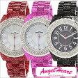 [あす楽] エンジェルハート腕時計 [Angel Heart時計](Angel Heart 腕時計 エンジェルハート 時計) ラブスポーツマリン レディース腕時計/ホワイト/WL39C [シェル スワロフスキー クリスタル エレメント][プレゼント/ギフト][送料無料][ポイント2倍]