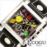 [あす楽] 選べる5色!コグ腕時計 [COGU時計](COGU 腕時計 コグ 時計) メンズ レディース ユニセックス/男女兼用腕時計/ブラック/CHS-SKR [おしゃれ 革 黒色 桜 カジュアル 定番 使いやすい おすすめ シルバー ピンク ホワイト レッド][送料無料][ポイント10倍]
