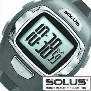ソーラス腕時計 SOLUS時計 SOLUS 腕時計 ソーラス 時計 レジャー930 Leisure 930 ユニセックス 男女兼用 シルバー グレー 01-930-003[スポーツ][ダイエット][エクササイズ][シニア][心拍時計(ハートレートモニター)][プレゼント ギフト][あす楽]