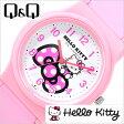 シチズン腕時計 CITIZENQ&Q時計 CITIZEN Q&Q 腕時計 シチズン 時計 ハローキティ HELLO KITTY レディース/ホワイト Q643X035[可愛い デザインウォッチ HALLO KITTY ピンク Pink][プレゼント/ギフト]