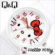 シチズン腕時計 CITIZENQ&Q時計 CITIZEN Q&Q 腕時計 シチズン 時計 ハローキティ HELLO KITTY レディース/ホワイト Q643X036[可愛い デザインウォッチ HALLO KITTY ピンク Pink][プレゼント/ギフト]