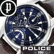 ポリス 腕時計 POLICE時計[ポリス腕時計] FLASH フラッシュ POLICE[10周年記念 限定モデル 革ベルト ブラウン] メンズ 人気 腕時計 14407JS-03 ポリス時計 POLICE腕時計[雑誌掲載][送料無料][クリスマス プレゼント ギフト]