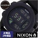 [正規品 2年保証]ニクソン腕時計 NIXON時計 nixon(ニクソン) 腕時計[ニクソン時計] ユニット UNIT BLACK メンズ ブラック NA197...