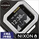 【クーポン配布中】[ポイント3倍][期間限定]NIXON時計[ニクソン腕時計] NIXON 腕時計 ニクソン スーパータイド SUPERTIDE BLACK/SILVER