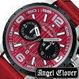 [あす楽]エンジェルクローバー 時計 AngelClover時計 AngelClover 腕時計 エンジェルクローバー腕時計 タイムクラフト TIME CRAFT メンズ /レッド NTC48SRE-RE [アナログ/クロノグラフ/防水/レッド コレクション/シルバー/ブラック][送料無料][プレゼント][父の日/贈り物]