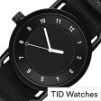 ティッドウォッチ腕時計 TIDWatches時計 TID Watches 腕時計 ティッド TIDウォッチ 時計 TID腕時計 メンズ/レディース/ユニセックス/男女兼用/ブラック TID01-BK-NBK[NATO ベルト/おしゃれ/北欧/アナログ/ホワイト/ナトー][送料無料][プレゼント]