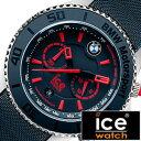 [ポイント10倍][5年保証対象]ICEWATCH時計 アイスウォッチ腕時計 ICE WATCH 腕時計 アイス ウォッチ 時計 ビーエムダブリューモータースポーツスチールブルー&レッドビッグビッグ BMW