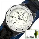 カクタス腕時計 CACTUS時計 CACTUS 腕時計 カクタス 時計 男の子 女の子 キッズ 子供用 ホワイト CAC-65-M03[ナイロン ベルト 正規品 ..