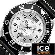 アイスウォッチ腕時計 ICEWATCH時計 ICE WATCH 腕時計 アイス ウォッチ 時計 ヘリテイジ ベーシック ビッグ Heritage Basic Big メンズ/シルバー HE.BK.SB.B.L[送料無料][プレゼント/ギフト][夏/バーゲン]
