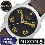 [������2ǯ�ݾ�]�˥������ӻ��� NIXON���� NIXON �ӻ��� �˥����� ���� ��㡼 �쥶�� Ranger 40 Leather Black / Brown ���/��ǥ�����/��˥��å���/�֥�å� NA471019-00[������/��������/�֥饦��/����С�][����̵��][�ץ쥼���]
