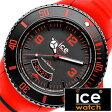 アイスウォッチ腕時計 ICEWATCH時計 ICE WATCH 腕時計 アイス ウォッチ 時計 マイアミ ビッグビッグ Miami BigBig メンズ/ブラック SU.RD.BB.S[送料無料][プレゼント/ギフト][父の日/贈り物]