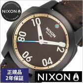 ニクソン腕時計 NIXON時計 NIXON 腕時計 ニクソン 時計 レンジャー 40 RANGER 40 メンズ/ブラウン NA4712209-00[正規品/人気/新作/ブランド/防水/革 ベルト/レザー/ブラウン][ギフト/プレゼント][送料無料][プレゼント/ギフト][夏/バーゲン][あす楽]