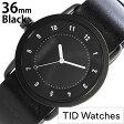 ティッドウォッチ腕時計 36mm TIDWatches時計 TID Watches 腕時計 ティッド ウォッチ 時計 TID No. 1 レディース/ブラック TID01-BK36-BK[革 ベルト/正規品/おしゃれ/替え/北欧/ホワイト][送料無料][ビジネス][プレゼント/ギフト][あす楽]