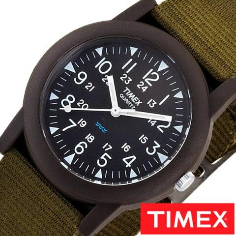 タイメックス腕時計 TIMEX時計 TIMEX 腕時計 タイメックス 時計 キャンパー Camper メンズ ブラック T41711[正規品 NATO ベルト ナトー 新品 ファッションウォッチ グリーン][送料無料][クリスマス プレゼント ギフト][あす楽]