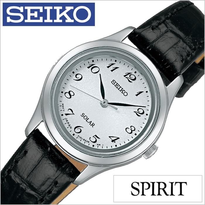 セイコー 腕時計 スピリット SEIKO時計 SEIKO 腕時計 セイコー 時計 SPIRIT レディース ホワイト STPX037 [ペアウォッチ ペアモデル ソーラー時計 定番 人気 ビジネス フォーマル シック シンプル][送料無料][プレゼント ギフト][ホワイトデー] [ホワイトデーにオススメ][30%OFF]SEIKO時計 セイコー腕時計 SEIKO 腕時計 セイコー 時計 スピリット SPIRIT
