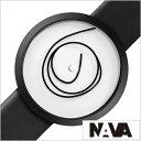 ナバ デザイン 時計 NAVA DESIGN 腕時計 ORA UNICA 42mm WHITE メンズ レディース ホワイト NVA020033 正規品 北欧 ミニマル シンプル ..