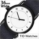 ティッドウォッチズ 時計 No.1 36mm TID Watches 腕時計 メンズ レディース ユニセックス ホワイト TID01-WH36-LAKE[正規品 人気 シンプル ミニマル ペアウォッチ ブランド 革 レザーベルト 北欧 お洒落 インテリア ネイビー 革 レザー バンド プレゼント][B]