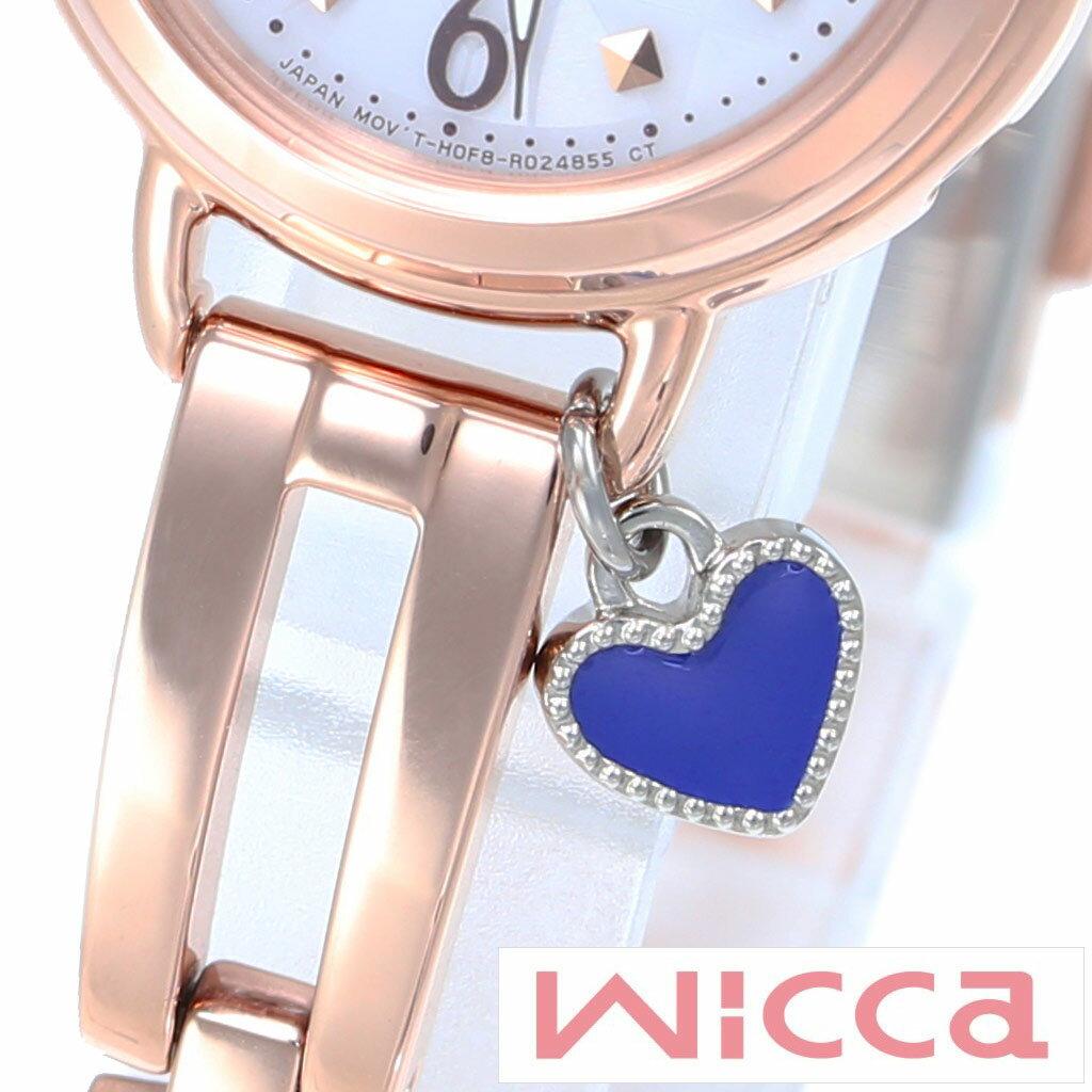 シチズン ウィッカ 時計 チャーム CITIZEN wicca 腕時計 アクセサリー レディース P-399-03905 [ハート ブルー シルバー 付け替え 人気 おしゃれ ファッション ブランド ギフト][あす楽]