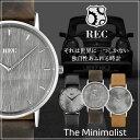 レック腕時計 REC時計 REC 腕時計 レック 時計 ミニマリスト The Minimalist ミニ Mini メンズ[アナログ 革 レザー ベルト シンプル 車体 一点物][送料無料]