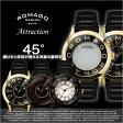 ロマゴデザイン腕時計 [ロマゴ時計](ROMAGO DESIGN 腕時計 ロマゴ デザイン 時計) /メンズ/レディース/男女兼用/ユニセックス腕時計/ゴールド/RM015-0162SS-GDBK [おしゃれ ゴールド][送料無料][プレゼント/ギフト]
