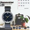 イノベーター腕時計 innovator 腕時計 ボールド Bald メンズ レディース ユニセックス シルバー IN-0001 正規品 北欧 人気 シンプル 薄..