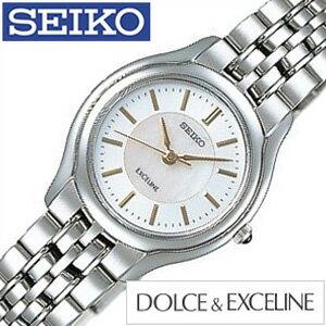 セイコー 腕時計 ドルチェ&エクセリーヌ SEIKO 時計 SEIKO 腕時計 セイコー時計 ドルチェアンドエクセリーヌ DOLCE&EXCELINE ペア 大人 高級 レディース時計 SWDL099[送料無料][プレゼント ギフト][ホワイトデー] [ホワイトデーにオススメ][30%OFF]【クーポン配布中】[5年保証対象][期間限定]SEIKO腕時計[セイコー時計] SEIKO 腕時計 セイコー 時計 ドルチェ&エクセリーヌ(DOLCE&EXCELINE)