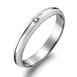 送料無料 結婚指輪 マリッジリング ペアリング ダイヤモンドマリッジリング P314D パイロット「True Love トゥルーラブ 」 プラチナ Pt900 レディース 文字彫り無料 マット つや消し 艶消し ツヤ消し【楽ギフ_名入れ】