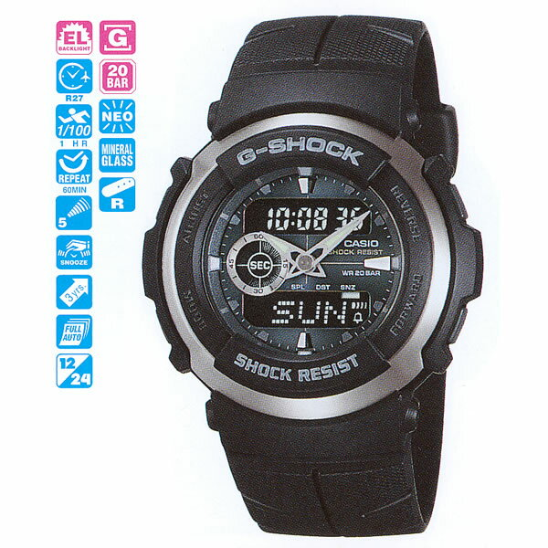CASIO G-SHOCK G-300-3AJF