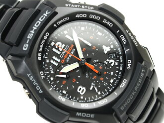 CASIO G-SHOCKカシオ 日本未発売海外ModelGショック アナログChroographWrist watch Stainless steelBelt G-1100BD-1A