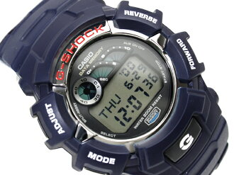 + G shock Casio digital watch overseas model Navy urethane belt G-2110-2