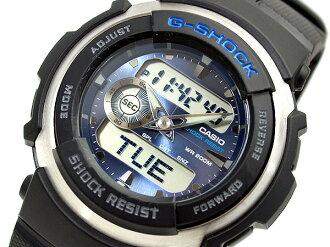 CASIOカシオ多機能Wrist watch Gショック Navy 海外Model G-300-2A