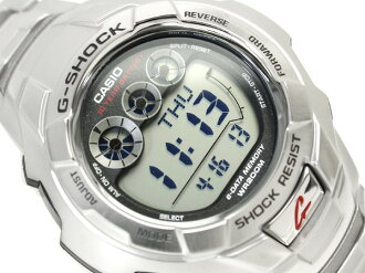 CASIO G-SHOCKカシオ Gショック 海外専売Model デジタルWrist watch Stainless steelBelt G-7100D-1