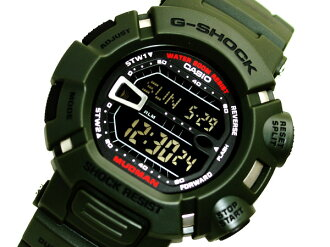 Casio G shock-proof mud and dust-proof watch madman green overseas model G-9000-3