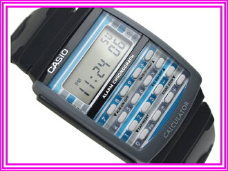 Casio Japan yet to be released overseas model pop tone ladies watch black penetration color Combi blue urethane belt LDF-40-1 A