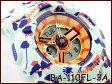【ポイント2倍!!+全商品送料無料!!】CASIO BABY-G カシオ ベビーG フラワー・レオパード・シリーズ アナデジ 腕時計 ライトシアン BA-110FL-3ADR BA-110FL-3A