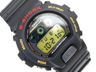 Casio reimport G shock Digital Watch Gold Crystal Black urethane belt DW-6900G-1