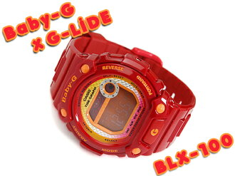 + Casio baby G G-LIDE G ride Digital Watch Red BLX-100-4DR BLX-100-4
