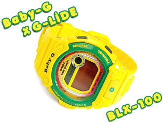 Casio baby G G-LIDE G ride digital watch yellow BLX-100-9DR BLX-100-9 fs3gm