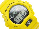 [all point double !+ product free shipping!]  [CASIO G-SHOCK] Casio G-Shock digital solar watch black dial white liquid crystal yellow urethane belt G-6900A-9