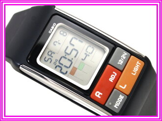 Casio ポップトーン international model ladies digital watch black urethane belt LDF-50-1DR
