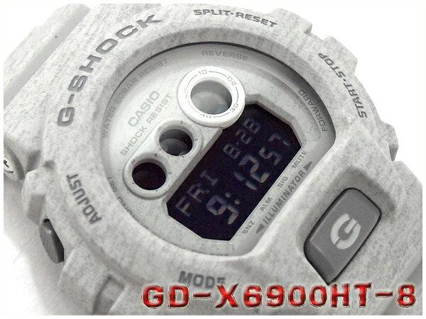 CASIO G-SHOCK カシオ Gショック ヘザード・カラー・シリーズ 腕時計 GD-X6900HT-8DR GD-X6900HT-8